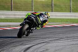 February 7, 2019 - Sepang, SGR, U.S. - SEPANG, SGR - FEBRUARY 07: Andrea Iannone of Aprilia Racing Team Gresini in action during the  second day of the MotoGP official testing session held at Sepang International Circuit in Sepang, Malaysia. (Photo by Hazrin Yeob Men Shah/Icon Sportswire) (Credit Image: © Hazrin Yeob Men Shah/Icon SMI via ZUMA Press)