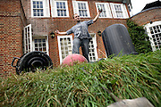 Robert, 25, from Poland is enjoying while having a beer in the back garden of the Ingram Avenue mansion on Sunday, Sep. 16, 2007, in Hampstead, London, England. The 22-room mansion was last sold for UK£ 3.9M in 2002 and is now awaiting planning permissions to be demolished. Two new houses will soon be taking its place. Million Dollar Squatters is a documentary project in the lives of a peculiar group of squatters residing in three multi-million mansions in one of the classiest residential neighbourhoods of London, Hampstead Garden. The squatters' enthusiasm, their constant efforts to look after what has become their home, their ingenuity and adventurous spirit have all inspired me throughout the days and nights spent at their side. Between the fantasy world of exclusive Britain and the reality of squatting in London, I have been a witness to their unique story. While more than 100.000 properties in London still lay empty to this day, squatting provides a valid, and lawful alternative to paying Europe's most expensive rent prices, as well as offering the challenge of an adventurous lifestyle in the capital.
