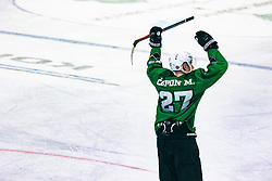 ČEPON Mark of HDD Olimpija during 500th derbi between HK SZ Olimpija Ljubljana vs HDD SIJ Acroni Jesenice  - AHL 2019/20, on the 26th of  Oktober, Ljubljana, Slovenia. Photo by Matic Ritonja / Sportida