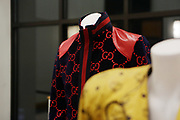 HARLEM, NEW YORK-DECEMBER 9: Outfits designed by Designer Dapper on exhibit during his talk for the Heritage Series held at the Schomburg Center, a part of the New York Public Library on December 9, 2019 in Harlem, New York City.   (Photo by Terrence Jennings/terrencejennings.com)