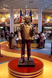 Stock photo of General Sam Houston displayed at the Houston Visitor's Center, Houston, Texas