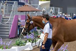 Gavino Gonzalez Francisco, ESP, Source de la Faye, 224<br /> Olympic Games Tokyo 2021<br /> © Hippo Foto - Dirk Caremans<br /> 29/07/2021