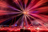 Fuegos artificiales en la Feria Internacional de la Pirotecnia 2020.  /  Fireworks at the Pyrotechnics International Fair 2020.