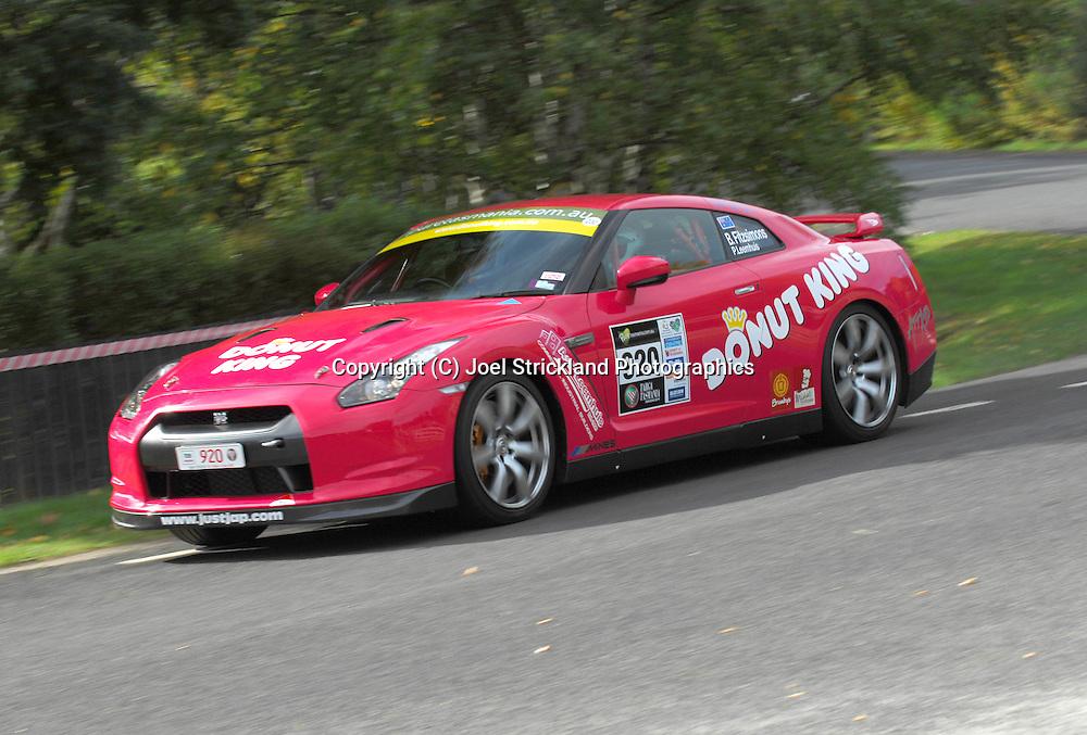 Peter Leemhuis & Ben Fitzsimons .2008 Nissan GTR .Day 1.Targa Tasmania 2009.29th of April 2009.(C) Joel Strickland Photographics.