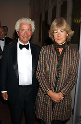 LORD & LADY GAVRON  at a dinner to announce the 2005 Man Booker Prize held at The Guilhall, City of London on 10th October 2005.<br />