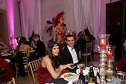 MARGHERITA MISSONI; ALEXSSUN GERARDINI Francesca Bortolotto Possati, Alessandro and Olimpia host Carnevale 2009. Venetian Red Passion. Palazzo Mocenigo. Venice. February 14 2009.  *** Local Caption *** -DO NOT ARCHIVE -Copyright Photograph by Dafydd Jones. 248 Clapham Rd. London SW9 0PZ. Tel 0207 820 0771. www.dafjones.com<br /> MARGHERITA MISSONI; ALEXSSUN GERARDINI Francesca Bortolotto Possati, Alessandro and Olimpia host Carnevale 2009. Venetian Red Passion. Palazzo Mocenigo. Venice. February 14 2009.
