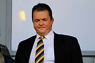 Non-executive Burton Albion director Jez Moxey during the EFL Sky Bet Championship match between Burton Albion and Cardiff City at the Pirelli Stadium, Burton upon Trent, England on 5 August 2017. Photo by Richard Holmes.