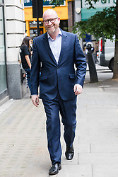 May 30, 2017 - London, London, UK - LONDON, UK.  PAUL NUTTALL, UKIP leader arrives at BBC Broadcasting House in London today. (Credit Image: © Vickie Flores/London News Pictures via ZUMA Wire)