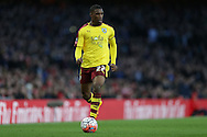 Tendayi Darikwa of Burnley in action. The Emirates FA cup, 4th round match, Arsenal v Burnley at the Emirates Stadium in London on Saturday 30th January 2016.<br /> pic by John Patrick Fletcher, Andrew Orchard sports photography.