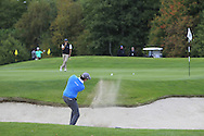 Nicolo Ravano (ITA) on the 8th during Round 1 of the Volopa Irish Challenge in Tullow, Co. Carlow on Thursday 8th October 2015.<br /> Picture:  Thos Caffrey / www.golffile.ie