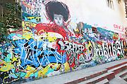 graffiti at Heraklion, Crete Island, Greece