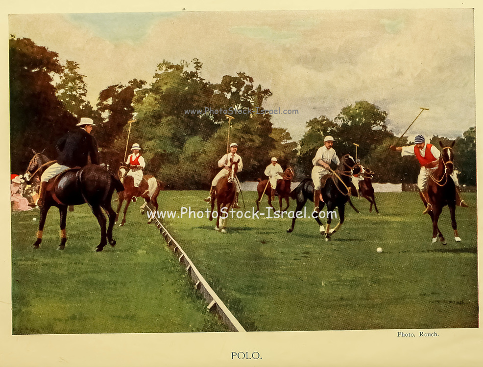 Polo From the book ' English sport ' by Alfred Edward Thomas Watson, Published in London by Macmillan and Co. Limited and in New York by Macmillan Company. in 1903