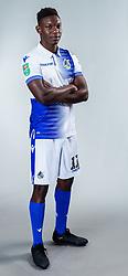 Bernard Mensah of Bristol Rovers - Ryan Hiscott/JMP - 22/08/2018 - FOOTBALL - Memorial Stadium - Bristol, England - Bristol Rovers Team Media Day
