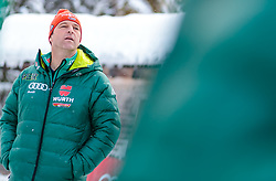 02.01.2018, Seefeld, AUT, FIS Weltcup Ski Sprung, Vierschanzentournee, Innsbruck, im Bild Cheftrainer Werner Schuster (GER) während eines Medientermins des DSV // Austrian Headcoach Werner Schuster of Germany during a Media Event of the German Skijumping Team before the 3rd Stage Insbruck of the Four Hills Tournament of FIS Ski Jumping World Cup at Seefeld, Austria on 2018/01/02. EXPA Pictures © 2018, PhotoCredit: EXPA/ JFK
