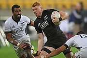 Tom Florence in action in the All Blacks Sevens match, Sky Stadium, Wellington, Sunday, April 11, 2021. Copyright photo: Kerry Marshall / www.photosport.nz