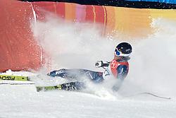 12-02-2006 SKIEN: AFDALING: OLYMPISCHE WINTERSPELEN: TORINO<br /> Steven Nyman (USA)<br /> ©2006-WWW.FOTOHOOGENDOORN.NL