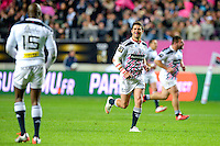 joie Stade Francais / Morne Steyn - 29.05.2015 - Stade Francais / Racing Metro - Barrages Top 14<br /> Photo : Andre Ferreira / Icon Sport