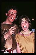 Katherine Morgan and James Sainsbury at Piers Gaveston Ball. Oxford Town Hall.1981 approx© Copyright Photograph by Dafydd Jones 66 Stockwell Park Rd. London SW9 0DA Tel 020 7733 0108 www.dafjones.com