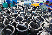 KINSALE (CORK) - IERLAND -  viskorven haven Kinsale . COPYRIGHT KOEN SUYK