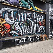 Boarded Up Street Art
