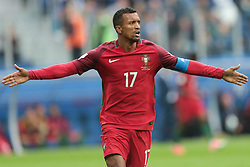 June 24, 2017 - Saint Petersburg, Russia - Nani of the Portugal national football team celebrates after scoring a goal during the 2017 FIFA Confederations Cup match, first stage - Group A between New Zealand and Portugal at Saint Petersburg Stadium on June 24, 2017 in St. Petersburg, Russia. (Credit Image: © Igor Russak/NurPhoto via ZUMA Press)
