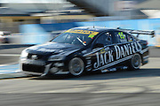 Jack Daniels racing's Rick Kelly action during  Race 5 of the ITM 400 Hamilton,Hamilton Street Circuit, Day Two, Hamilton City ,V8 supercars,, Photo: Dion Mellow / photosport.co.nz