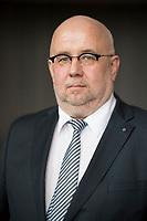 DEU, Deutschland, Germany, Arnstadt, 18.02.2017: Portrait Jürgen Pohl, Listenplatz 2 der AfD Thüringen zur Bundestagswahl, Landeswahlversammlung der Partei Alternative für Deutschland (AfD) in Thüringen.