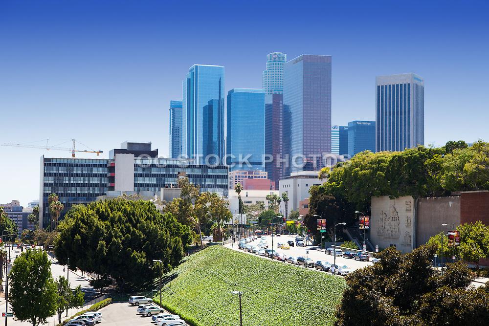 Los Angeles City Skyline Skyscrapers