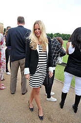 ASTRID HARBORD at a charity polo match organised by Jaeger Le Coultre was held at Ham Polo Club, Richmond, Surrey on 12th June 2009.