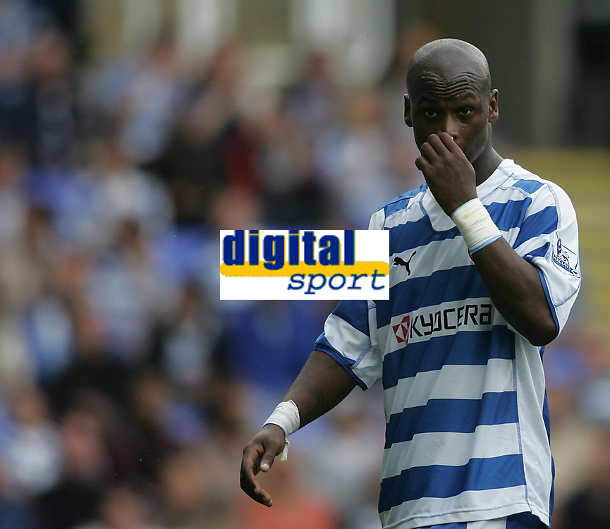 Photo: Lee Earle.<br /> Reading v West Ham United. The FA Barclays Premiership. 01/09/2007.Reading's Leroy Lita looks dejected as they trail to West Ham.