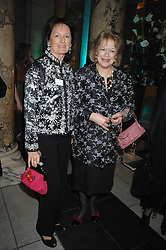 Left to right, sisters RACHEL BILLINGTON and LADY ANTONIA FRASER at the Orion Publishing Groups Authors party held at the V&A museum, Cromwell Road, London on 15th February 2007.<br />