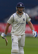 Chris Woakes (Warwickshire County Cricket Club) during the LV County Championship Div 1 match between Durham County Cricket Club and Warwickshire County Cricket Club at the Emirates Durham ICG Ground, Chester-le-Street, United Kingdom on 14 July 2015. Photo by George Ledger.