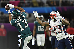 Philadelphia Eagles defeats the New England Patriots 41-33 in Super Bowl LII at U.S. Bank Stadium on February 4, 2018 in Minneapolis, Minnesota. Photo by Lionel Hahn/ABACAPRESS.COM