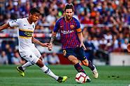 FOOTBALL - JOAN GAMPER TROPHY - FC BARCELONA v CA BOCA JUNIORS 150818