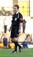 Photo: Dave Linney.<br />Port Vale v Swindon Town. Coca Cola League 1.<br />19/11/2005.Ref A.M.Penn