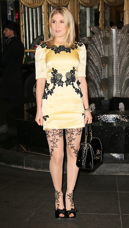 © London News Pictures. Hofit Golan attends the Exhibition of exclusive photographs of Kate Moss at The Savoy, London UK, 30 January 2014, Photo credit: Richard Goldschmidt/LNP