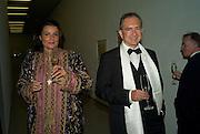 ALEXANDRA  EIKEL LOHBERGER; BERTRAM  EIKEL LOHBERGER, Dinner at the Museum der Moderne. Salzburg.  Amadeus Weekend. Salzburg. 23 August 2008.  *** Local Caption *** -DO NOT ARCHIVE-© Copyright Photograph by Dafydd Jones. 248 Clapham Rd. London SW9 0PZ. Tel 0207 820 0771. www.dafjones.com.