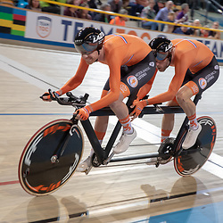 16-03-2019: Wielrennen: WK Paracycling baan; Apeldoorn<br />Vincent Ter Schure, Timo Franssen