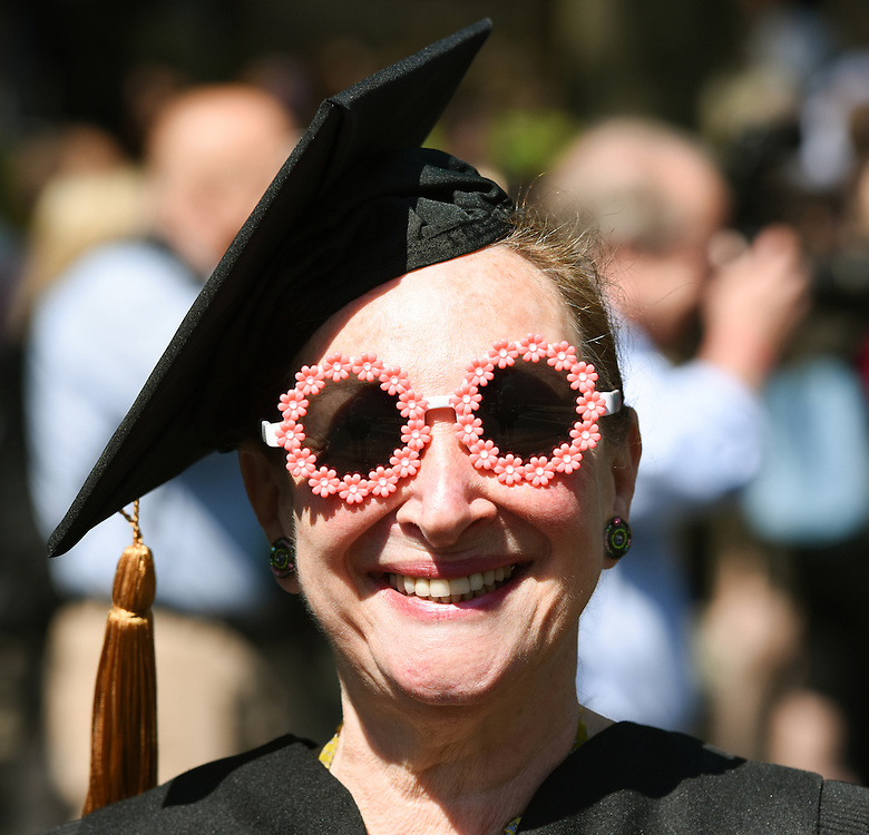 May 23, 2016 New Haven<br /> The Yale Law School during commencement exercises. Rosalie Silberman Abella.
