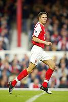 16/10/2004<br />FA Barclays Premiership - Arsenal v Aston Villa - HIghbury<br />Arsenal's Robin Van Persie<br />Photo:Jed Leicester/BPI (back page images)