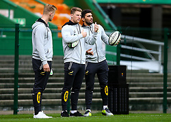 Robert du Preez of South Africa with Damian de Allende of South Africa - Mandatory by-line: Steve Haag/JMP - 22/06/2018 - RUGBY - DHL Newlands Stadium - Cape Town, South Africa - South Africa Captains Run, South Africa Tour
