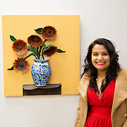 Lori Ann Rodriguez with A Piece of Home