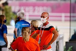Minderhoud Hans Peter, NED<br /> Olympic Games Tokyo 2021<br /> © Hippo Foto - Stefan Lafrentz<br /> 27/07/2021