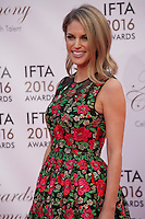 Actress Amy Huberman at the IFTA Film & Drama Awards (The Irish Film & Television Academy) at the Mansion House in Dublin, Ireland, Saturday 9th April 2016. Photographer: Doreen Kennedy