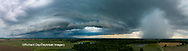 63891-03103 Aerial view of thunderstorm clouds Marion Co. IL