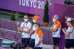 Gal Edward, NED, Minderhoud Hans Peter, NED<br /> Olympic Games Tokyo 2021<br /> © Hippo Foto - Stefan Lafrentz<br /> 27/07/2021no