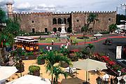 MEXICO, CUERNAVACA Palace of Cortes, built IN 1522-1532