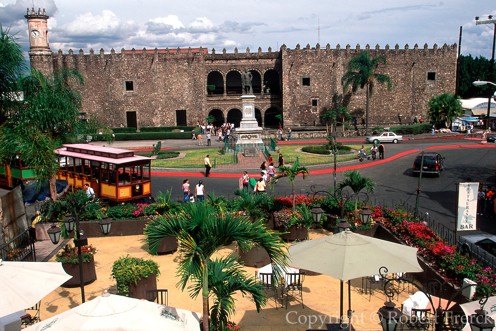 MEXICO, CUERNAVACA Palace of Cortes, built IN 1522-1532