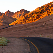 Road to Artist's Palette, Death Valley National Park
