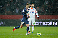 FOOTBALL - FRENCH CHAMPIONSHIP 2012/2013 - L1 - PARIS SAINT GERMAIN v OLYMPIQUE MARSEILLE - 24/02/2013 - PHOTO JEAN MARIE HERVIO / REGAMEDIA / DPPI - DAVID BECKHAM (PSG)